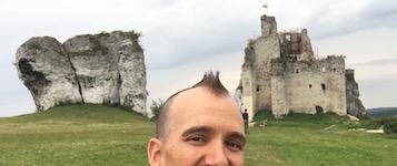 Brad Weimert Climbing in Poland